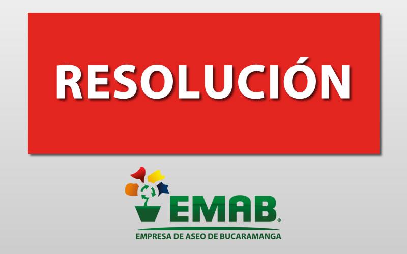Resolución Revocatoria No. 316 de 2016