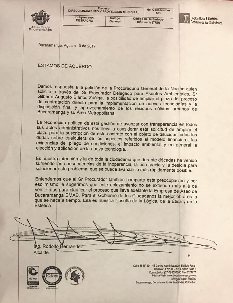 Se amplía el plazo de la suscripción del contrato para aplicación de nuevas tecnologías en el Carrasco.