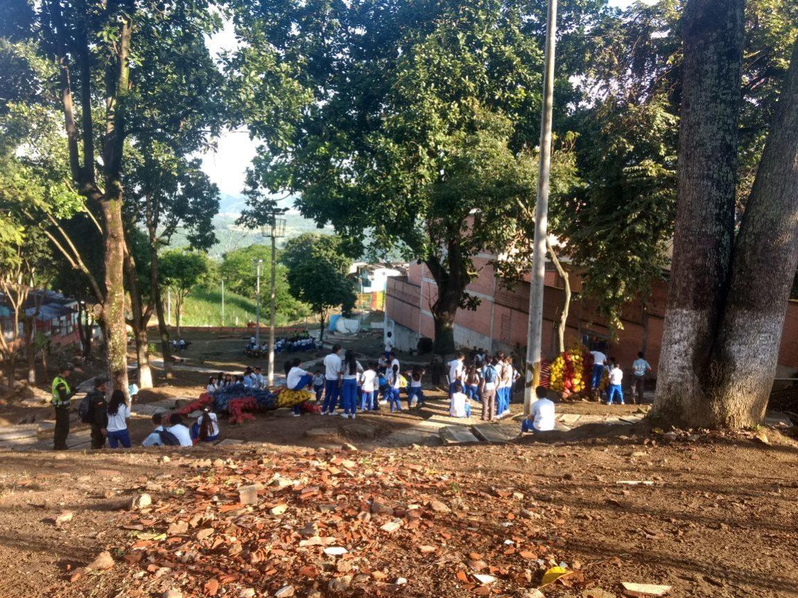 Parque Las Tortugas, un espacio limpio y libre de drogas.