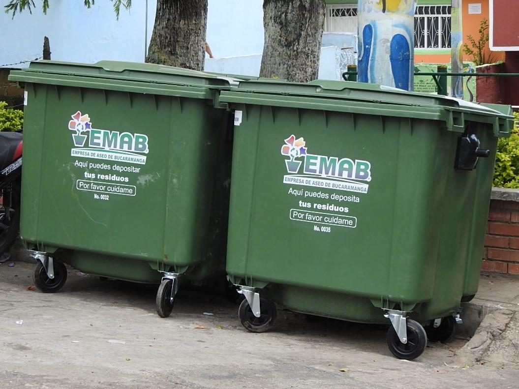 Se instalarán contenedores en el Centro de Bucaramanga