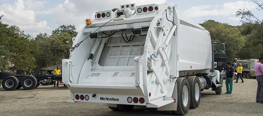 La EMAB comprará nuevos vehículos recolectores de basura