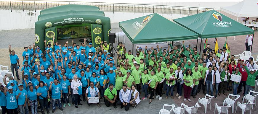En el Día Nacional del Reciclador, EMAB reconoció tarifa que por Ley reciben las cooperativas que prestan este servicio