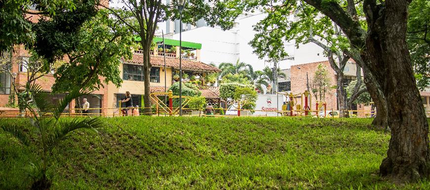 El verde volvió a resplandecer en el Parque San Pío
