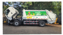 EMAB adquiere 5 nuevos vehículos recolectores de residuos sólidos