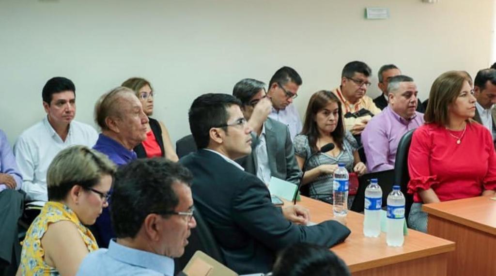 AUDIENCIA CON EL JUEZ 15 ADMINISTRATIVO PARA EL TEMA DEL CARRASCO