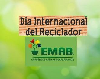 1 de Marzo día Mundial del Reciclador